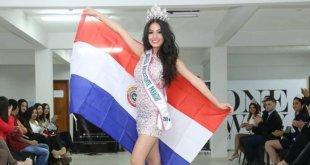Rocío Ibáñez, Miss Teenager Paraguay (Foto Facebook)