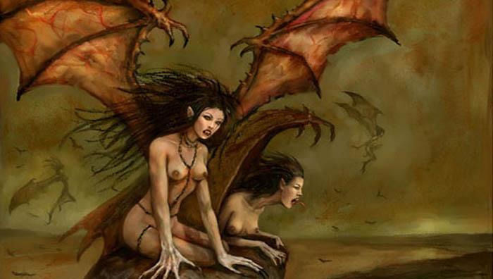 Les harpies dans la mythologie grecque