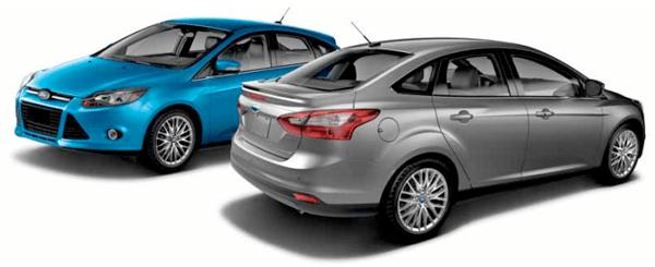 Como funciona o alerta de baixa pressão dos pneus do Ford Focus