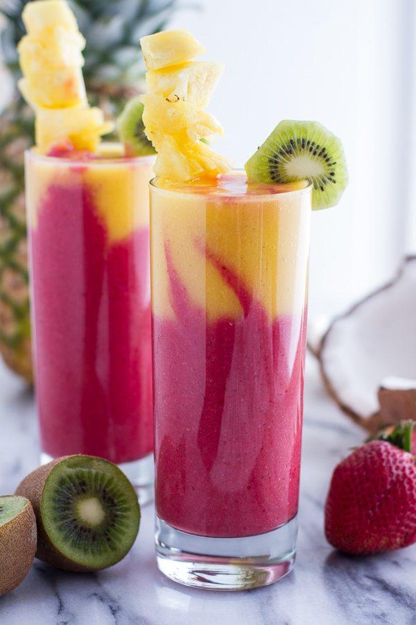 9 fruit smoothie