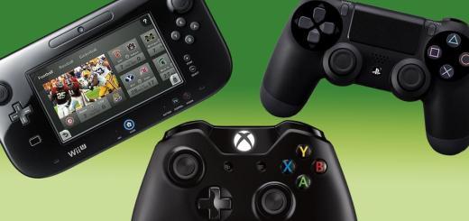 Wii U Vs. Xbox One Vs. PS4