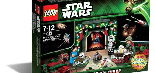Calendrier de l'avent Lego Star Wars 2013