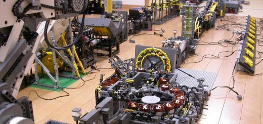 Ultimate Lego Machine