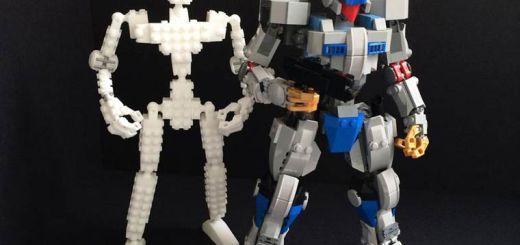 Squelette Robot Gundam