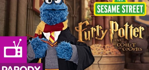 Sesame Street en mode Harry Potter