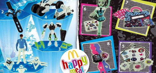 Max Steel / Monster High dans les Happy Meal