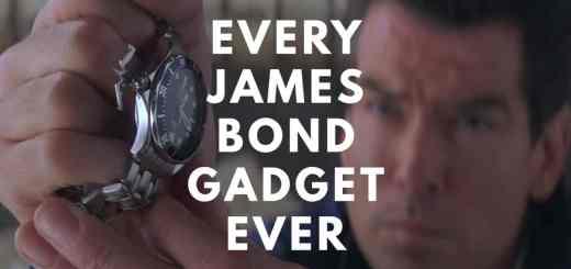 Les 193 gadgets utilisés par James Bond, en une vidéo