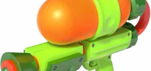 Splatoon Pistolet à Eau