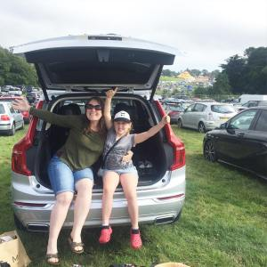 Weve arrived campbestival  Brilliant journey in the volvocars XC90hellip
