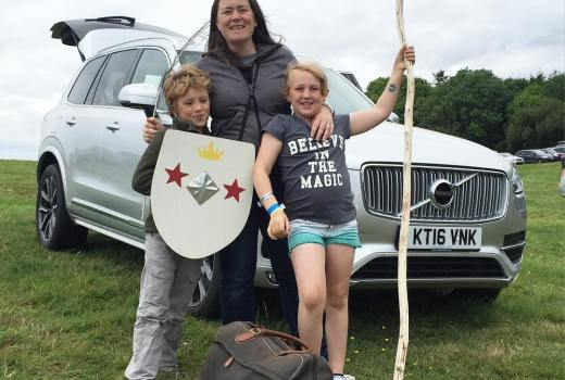 Veni, Vedi, Veci We came, we saw, we conquered. We've had an amazing time at Camp Bestival  The #volvoxc90 we have been loaned is packed, so sad to leave but looking forward to an easy drive home  Kids are sad we couldn't sneak the new friends they made into the extra row of seats  but here's to next year! @campbestival @volvocaruk #campbestival