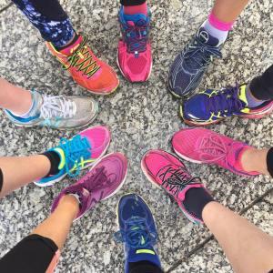 We did it! seehowsheruns 530 Nottingham run running