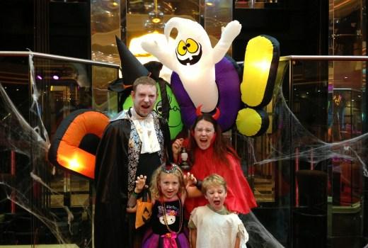 Halloween on Carnival Cruises