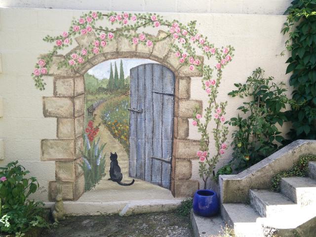 Murale d'un jardin secret : La murale finale