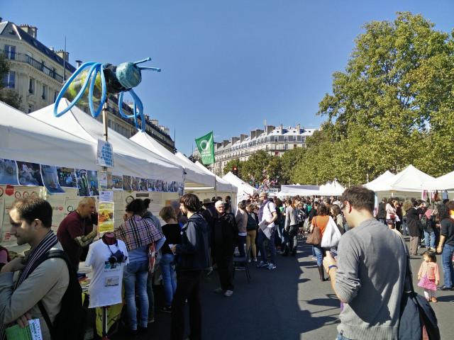 Débrouille: The Alternatiba 'village'