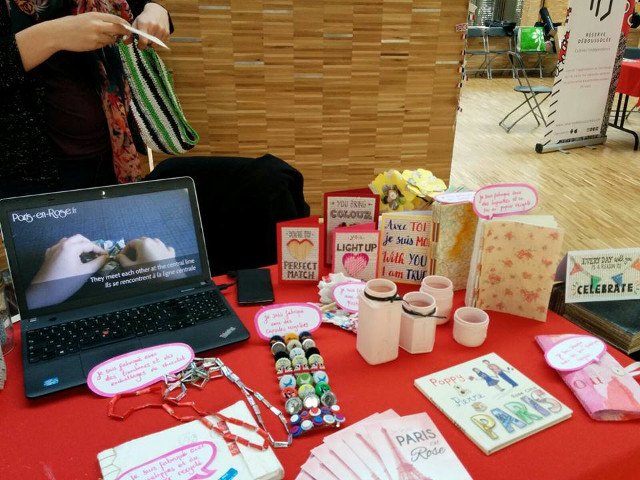 Recycled crafts at the Second Square #5 event
