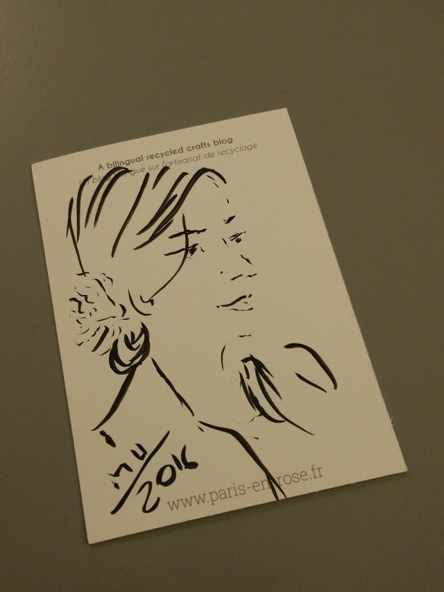 Portrait Paris en Rose