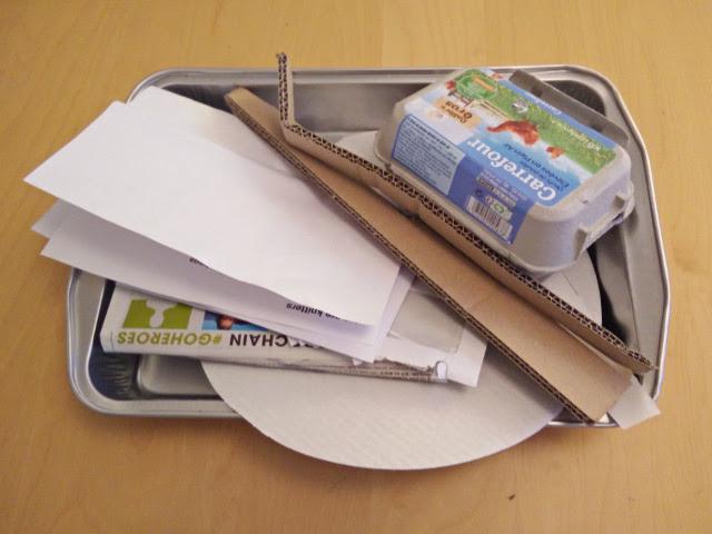 Scrap paper and card