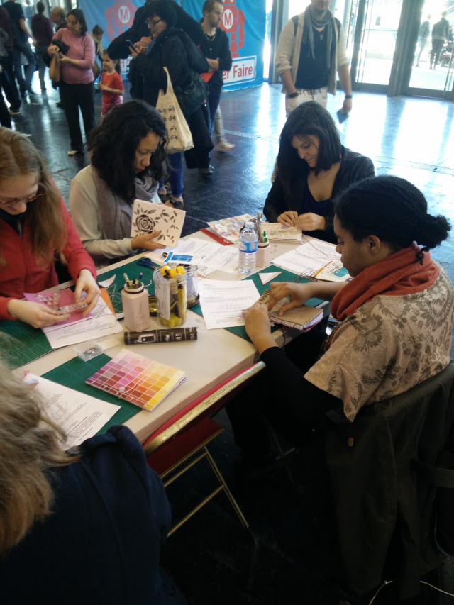 Notebook workshop at Maker Fair Paris