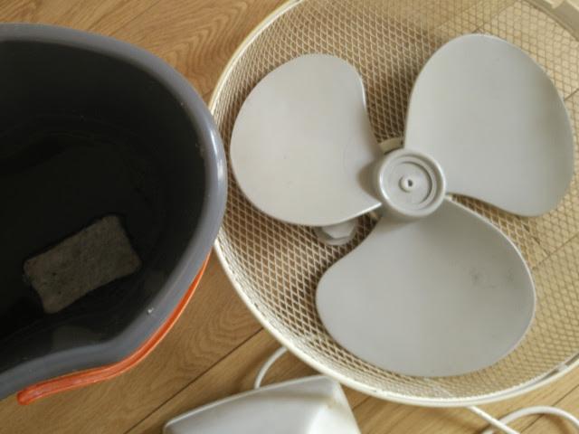 Nettoyez le ventilateur