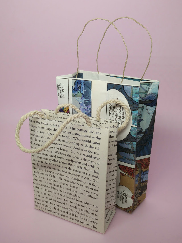 Eco wrapping ideas : Make your own gift bags