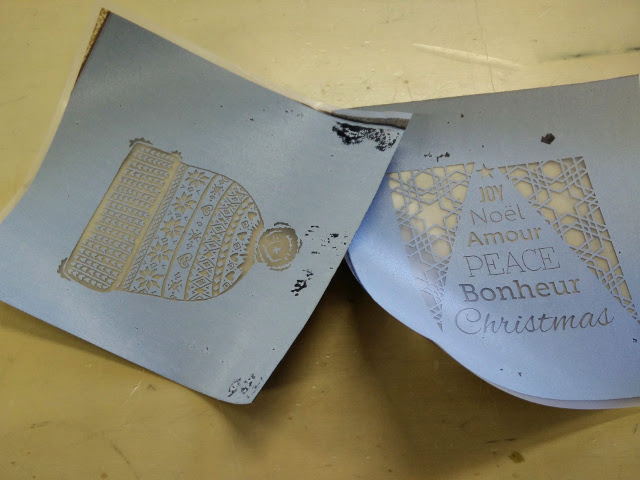 Design printed onto magic screen film