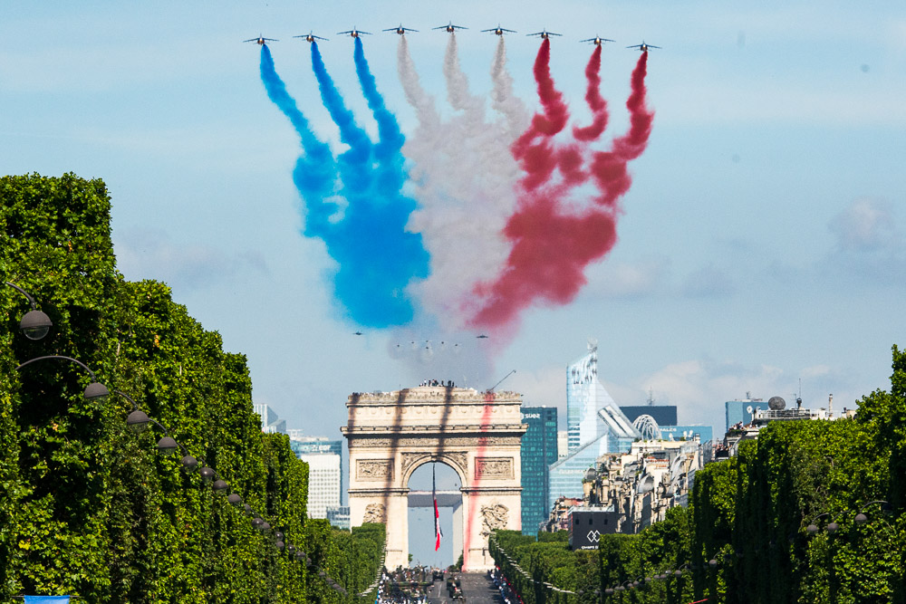 Paris Events Calendar   Things to Do   Paris Discovery Guide Bastille Day military flyover