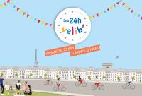 Les 24h Vélib' s'invitent sur les Champs-Élysées à Paris
