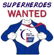 relay for life heroes wanted