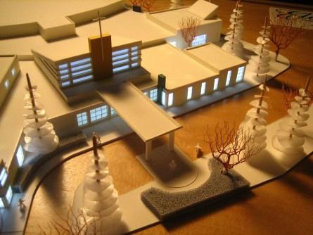 model of modern church design