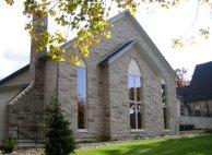 traditional church exterior renovation