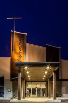 Lakemount Worship Centre, Front Entrance