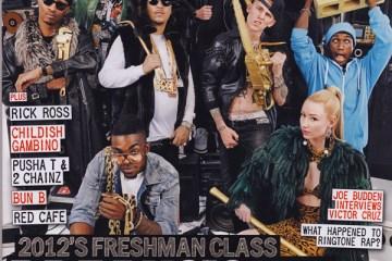 2012 XXL Freshmen Cover