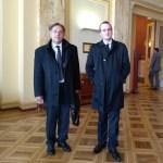Mark Andrev Le Lem et Thomas Radoubé à Genève, 13-15 mars 2018.