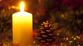 Natale candela.