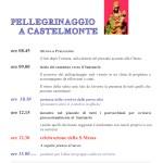 Pellegrinaggio a Castelmonte 2016