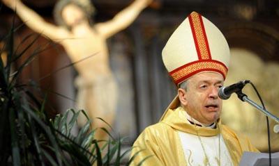 El_obispo_Antonio_Marino_encabez_la_misa_de_Pascuas
