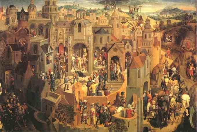 Pasion de Turin - Hans Memling 451
