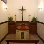 Altar y pila cineraria
