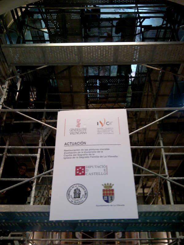 RESTAURACION CAPILLA DE LA COMUNION