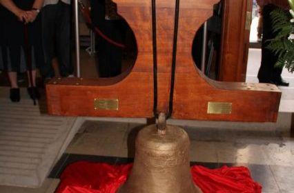 Bendicion las campanas restauradas