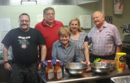 Kiwanis Club cooks for Homeless Solutions