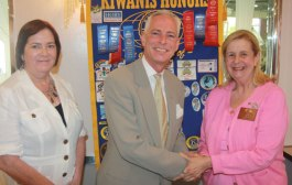 Scott Rixford visits Kiwanis Club