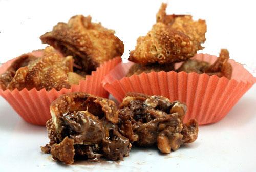Deep-Fried Wonton Snickers and Pho Ga