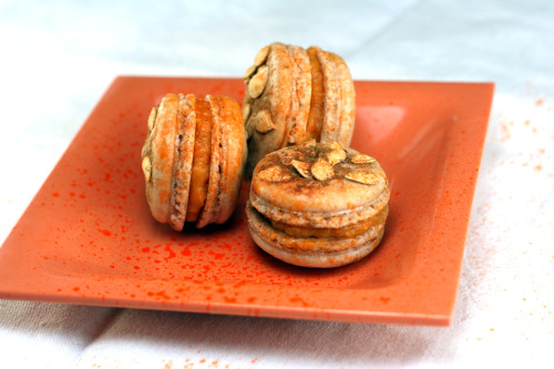 'The Whole Pumpkin' Macarons and Holiday Cookie Baking! I've got 5 unique cookie recipes, the best brownies ever, and two unique macaron recipes for your holiday cookie baking!