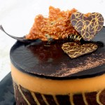 Biscuit Joconde Imprime/Entremet – Peanut Butter and Chocolate all Decked Out