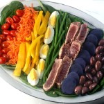 A Twist on Salad Nicoise for Monthly Mingle – April in Paris