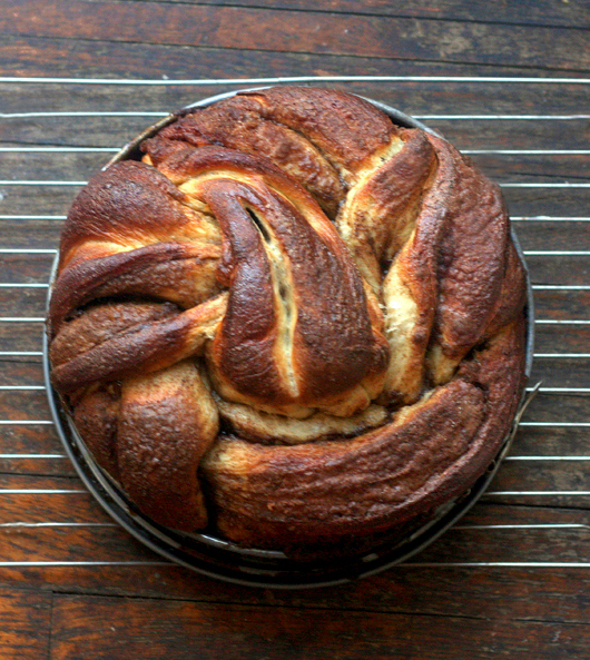 Vanilla Bean Brown Butter Cinnamon Swirl Challah Twist