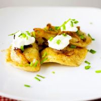 Pierogi with Crispy Fried Onions