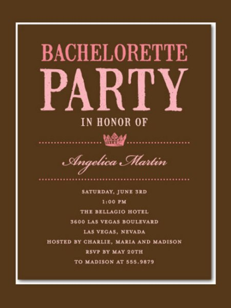17 Bachelorette Party Invitations Party Ideas