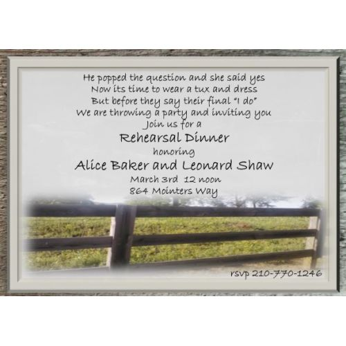 Medium Crop Of Rehearsal Dinner Invitations